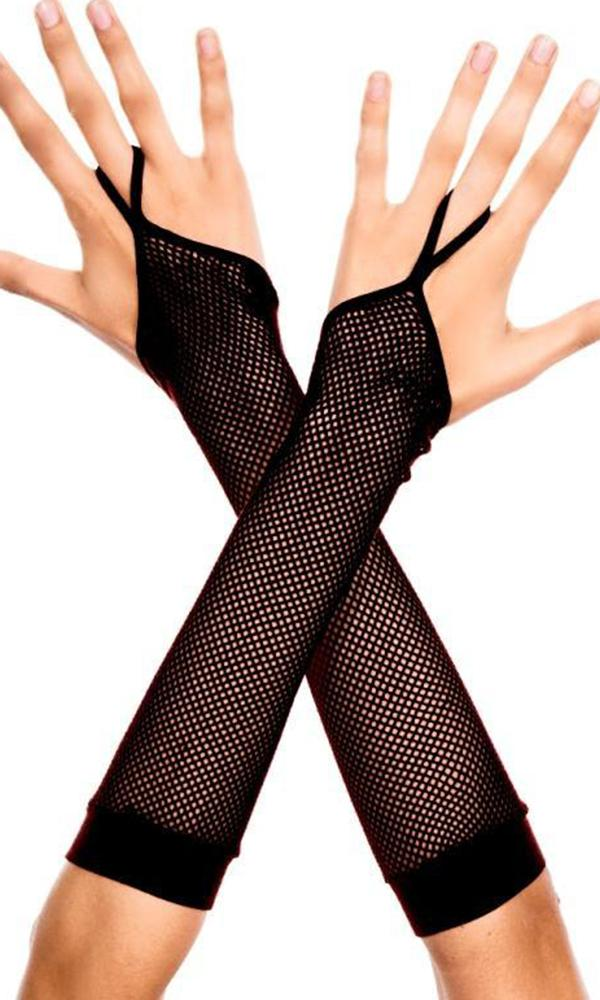 Fishnet With Finger Loop | ARMWARMERS^