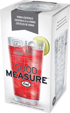 Good Measure Vodka | RECIPE GLASS