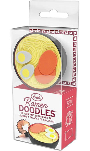 Ramen Doodles | ERASER AND SHARPENER SET