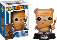 Star Wars - Wicket the Ewok POP! VINYL