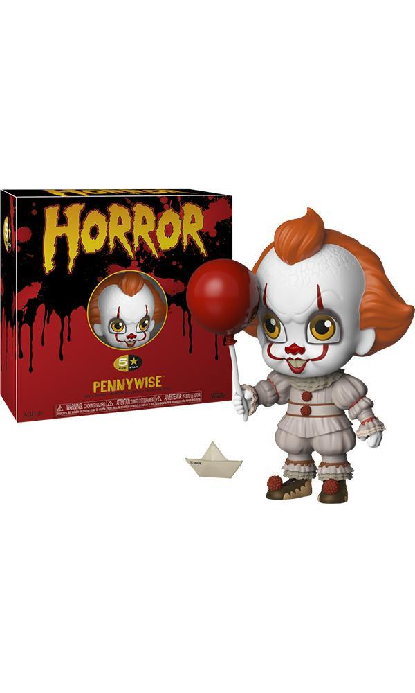 TITANS VINYL FIGURE IT SERIES PENNYWISE /& GEORGIE WITH ACCESSORIES