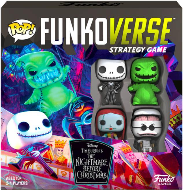 Funkoverse | The Nightmare Before Christmas BOARD GAME [4 Pack]