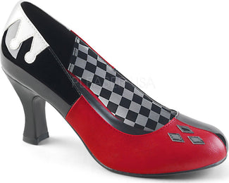 HARLEY-42 | Black Pat-Red-White PU [PREORDER]