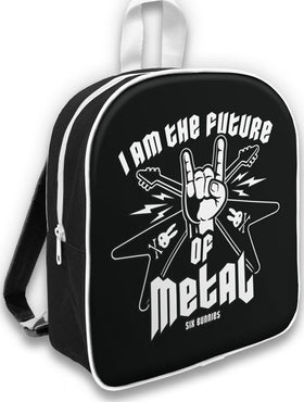 Future of Metal Black | CHILDRENS BACKPACK