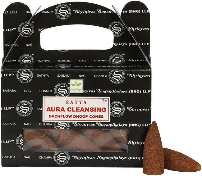 Aura Cleansing Backflow | INCENSE CONES
