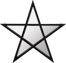 Black Pentagram | SHELF WITH MIRROR