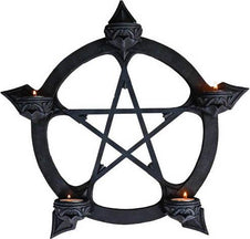 Black Pentagram | TEALIGHT HANGER