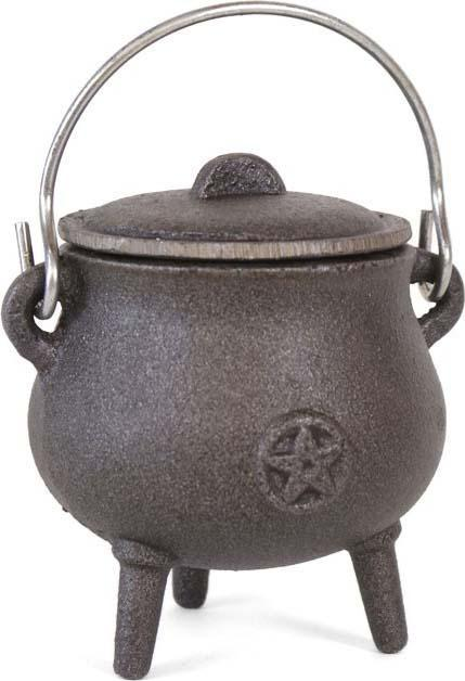 Pentagram [7cm] | CAST IRON CAULDRON