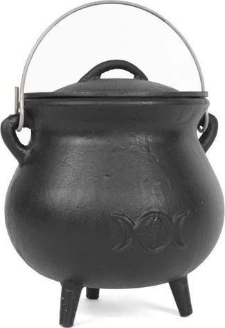 Triple Moon [19cm] | CAST IRON CAULDRON