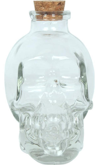 Clear Skull | ORNAMENT JAR