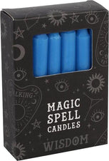 Dark Blue Wisdom Spell | CANDLES [PACK OF 12]