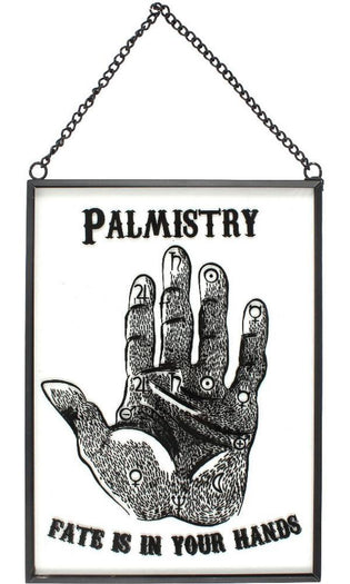 Glass Palmistry | HANGING SIGN