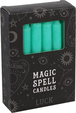 Green Luck Spell | CANDLES [PACK OF 12]
