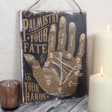 Palmistry is Your Fate | WALL SIGN