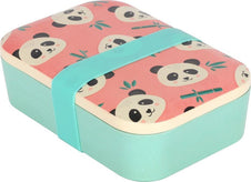 Penelope Panda Bamboo | LUNCH BOX*