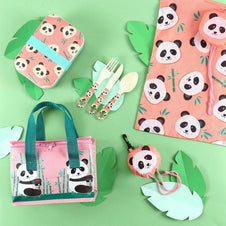 Penelope Panda Bamboo | LUNCH BOX