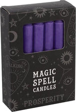 Purple Prosperity Spell | CANDLES [PACK OF 12]