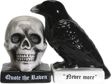 Quoth The Raven  | SALT AND PEPPER SHAKER SET