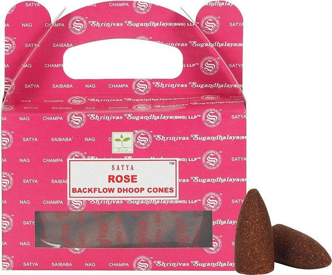 Rose Backflow | INCENSE CONES
