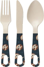 Sidney Sloth Bamboo | CUTLERY SET