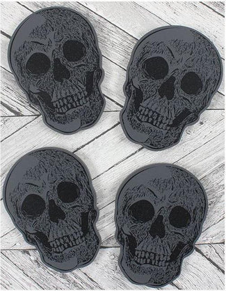 Skull | COASTERS SET OF 4