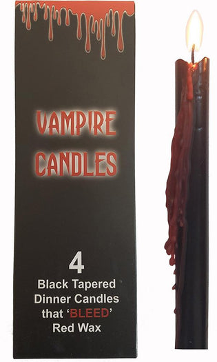 4 x Bleeding Heart Vampire CANDLES