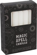 White Happiness Spell | CANDLES [PACK OF 12]