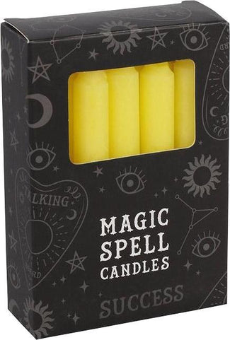 Yellow Success Spell | CANDLES [PACK OF 12]