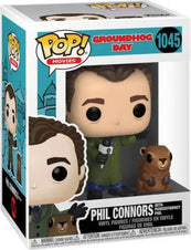Groundhog Day | Phil With Punxsutawney Phil POP! VINYL
