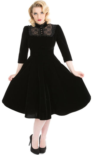 Nightshade Velvet | DRESS