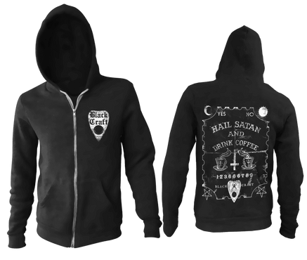 Hail Satan & Drink Coffee | HOODIE MENS