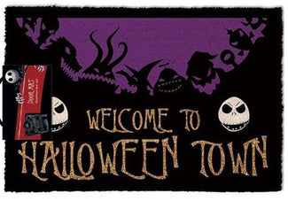 The Nightmare Before Christmas | Halloween Town DOOR MAT