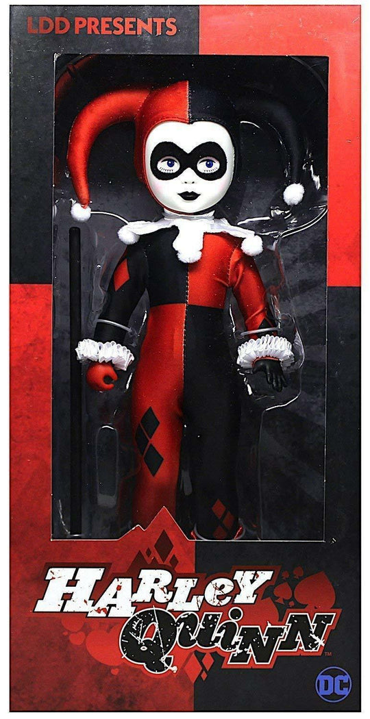 "LDD Presents | Harley Quinn 10"" LIVING DEAD DOLL"