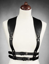 Wide Strapped Underbust (Black) Harness