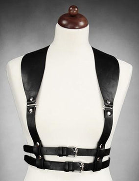 Wide Strapped Underbust [Black] | HARNESS