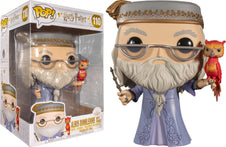 "Harry Potter | Dumbledore With Fawkes 10"" POP! VINYL"