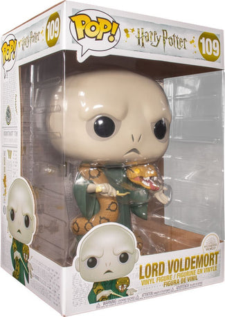 "Harry Potter | Voldemort With Nagini 10"" POP! VINYL"
