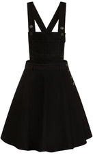 Dakota Pinafore [Black] | DRESS