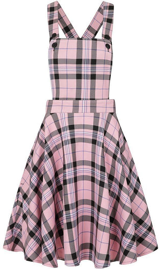 Dalston Pink Pinafore | DRESS