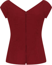 Petunia [Burgandy] | TOP