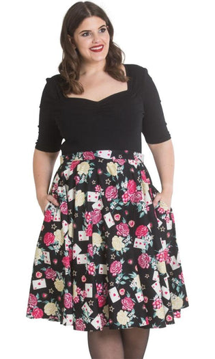 Queen Of Heart 50's | SKIRT