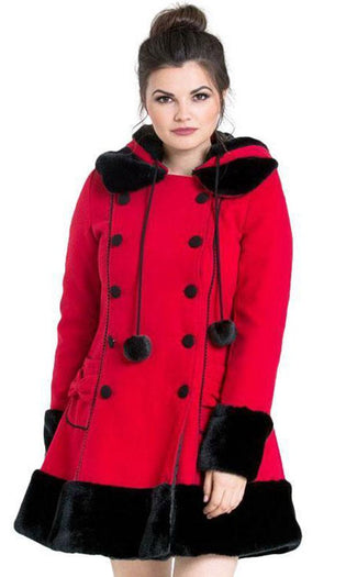 Sarah Jane [Red/Black] | COAT