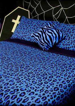 Frozen Leopard | KING QUILT SET