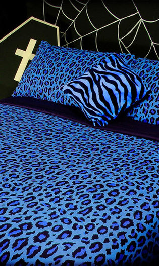 Frozen Leopard | QUEEN QUILT SET*