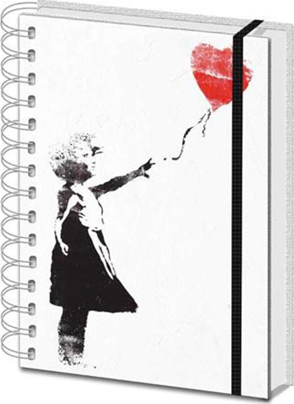 Banksy | Balloon Girl NOTEBOOK