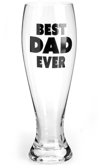 Best Dad Ever | PILSNER GLASS