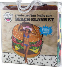 Bigmouth Gigantic Burger Beach Blanket