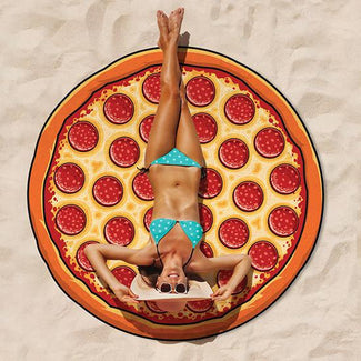 Gigantic Pizza | BEACH BLANKET
