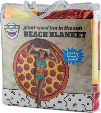 Bigmouth Gigantic Pizza Beach Blanket