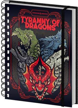 Dungeons & Dragons | Tyranny Of Dragons NOTEBOOK